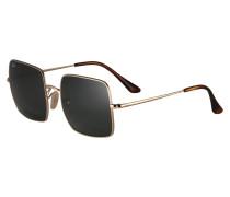 Sonnenbrille 'square' gold