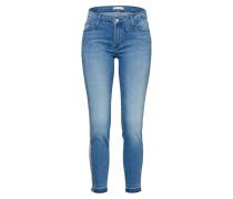 Jeans blue denim / bronze