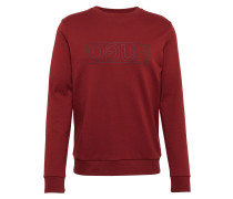 Sweatshirt 'Dicago-U6' weinrot