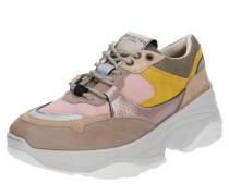 Sneaker 'Gavina' gelb / rosa / rosé
