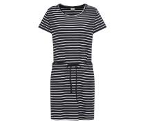 Kleid 'charm' dunkelblau / weiß