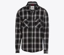 Hemd 'bajeco Shirt' schwarz / weiß