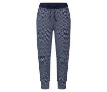 Pyjamahose 'night2Day Nos' dunkelblau