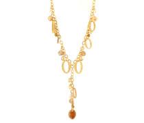 Halskette mit elegantem Anhänger gold