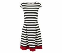 Skaterkleid rot / schwarz / weiß