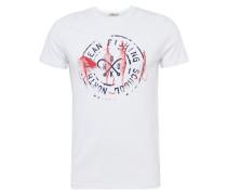 T-Shirt 'dofani T/s' weiß