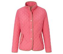 Steppjacke braun / pink