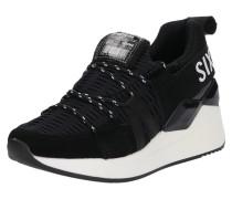 Sneaker 'waseda' schwarz / weiß