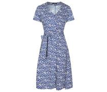 Kleid blau / pastellgelb