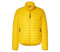 Steppjacke gelb