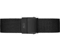 Uhrenarmband schwarz