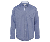 Hemd 'Dries' blau