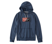 Sweatshirt 'heavyweight' blau