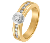 Ring '60003475' gold / silber