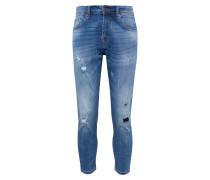 Jeans 'lowcrotch-Frank Blue1' blue denim