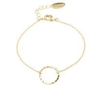 Armband 'Open circle chain' gold