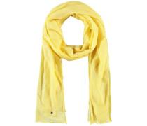 Schal Softer Uni-Schal gelb