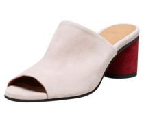 Sandalen pastellpink / dunkelrot