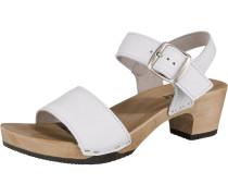 'Kea' Plateau-Sandaletten weiß