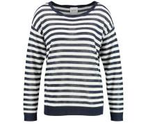 Pullover im Streifen-Design schwarz / weiß