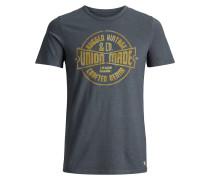 T-Shirt senf / dunkelgrau