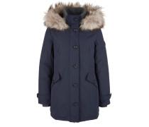 Mantel beige / dunkelblau