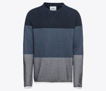 Pullover 'strip struc cn' navy