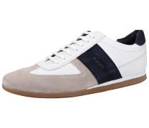 Sneaker ecru / schwarz / weiß