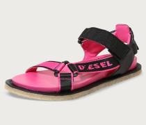 Sandalen 's-Paradyce' pink / schwarz