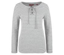 Sweatshirt mit Schnürung