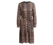 Sonstige Kleider Kleid in Schlangendruck