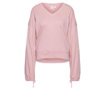 Sweatshirt 'new Rose Crystal' rosé