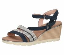 Sandale enzian / braun