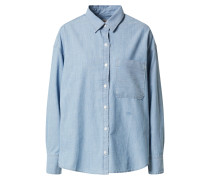Bluse 'the Relaxed Shirt' schwarz
