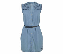 Kleid 'lura' blue denim