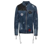 Jeansjacke 'Japan' blue denim