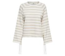 Pullover 'ucca' beige / weiß