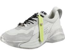 Sneakers schilf / silber