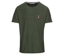 T-Shirt 'roc Kenneth printed' khaki