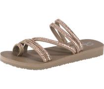 Sandale 'Meditation' taupe