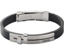 Armband 'jf85096040' schwarz / silber
