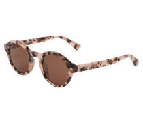 Sonnenbrille 'Tokyo' creme / braun