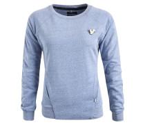 Sweatshirt 'sunti' blaumeliert