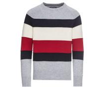 Pullover 'colorblock Stripe Cneck Sweater'