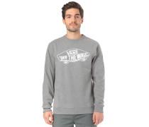 Sweatshirt 'Otw Crew' grau / weiß