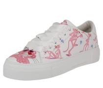 Sneaker 'Big' pink / weiß