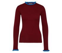Pullover 'Andrea' royalblau / bordeaux