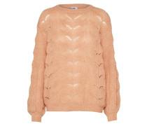 Grobstrickpullover 'blouse' rosé