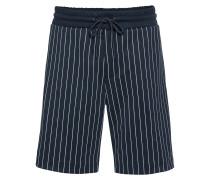 Shorts 'trackshorts Pin' navy / weiß