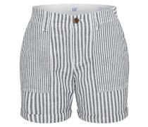 Shorts grau / weiß